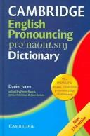 Cover of: English Pronouncing Dictionary Network CD-ROM