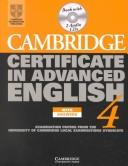 Cover of: Cambridge Certificate in Advanced English 3 Cassette Set