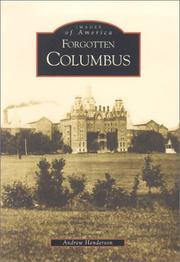 Cover of: Forgotten Columbus  (OH) | Andrew Lawrence Henderson
