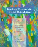 Cover of: Teaching persons with mental retardation