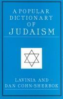 Cover of: A Popular Dictionary of Judaism (Popular Dictionaries of Religion)