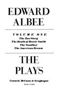 Cover of: The Plays Volume 1