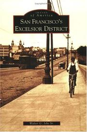Cover of: San Francisco's Excelsior District  (CA) by Walter G. Jebe Sr.