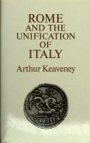 Cover of: Rome and the Unification of Italy | Arthur Keveaney