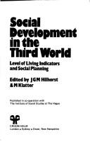 Cover of: Social Development in the Third World | Jos G. M. Hilhorst