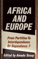 Cover of: Africa and Europe