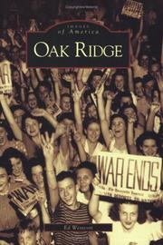 Cover of: Oak Ridge   (TN) | Ed  Westcott