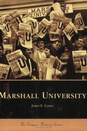 Cover of: Marshall University  (WV) (Campus  History  Series)