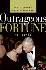 Cover of: Outrageous Fortune | Tom Bower