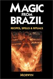 Cover of: Magic From Brazil | Morwyn.