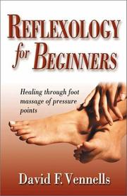 Cover of: Reflexology For Beginners | David Vennells