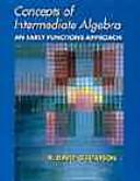 Cover of: Concepts of Intermediate Algebra