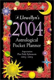2004 Astrological Pocket Planner