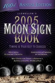 Cover of: 2005 Moon Sign Book | Llewellyn