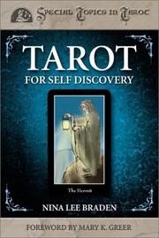 Cover of: Tarot For Self Discovery (Special Topics in Tarot)