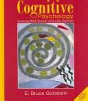 Cover of: Concept maps and CogLab online manual for Goldstein's Cognitive psychology