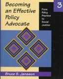 Cover of: Becoming an Effective Policy Advocate