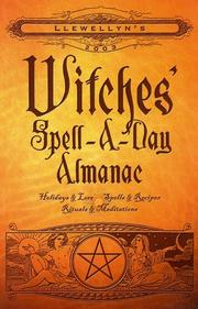 Cover of: 2003 Witches