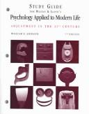 Cover of: Study Guide for Weiten and Lloyds Psychology Applied to Modern Life | Wayne Weiten