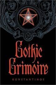 Cover of: Gothic Grimoire