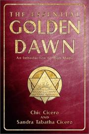 Cover of: Essential Golden Dawn | Chic & Sandra Tabatha Cicero