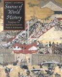 Cover of: Sources of world history |