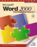 Cover of: Microsoft Word 2000 complete tutorial