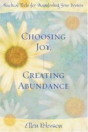 Cover of: Choosing Joy, Creating Abundance