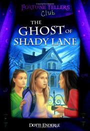 Cover of: Ghost Of Shady Lane (Fortunetellers Club)