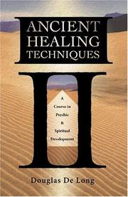 Cover of: Ancient Healing Techniques