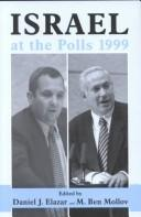 Cover of: Israel at the polls, 1999