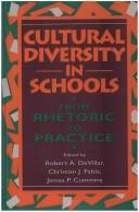 Cover of: Cultural diversity in schools