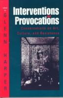 Cover of: Interventions and Provocations | Glenn Harper