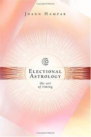 Cover of: Electional Astrology