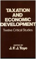 Cover of: Taxation and Economic Develop