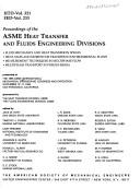 Cover of: Proceedings of the Asme Heat Transfer and Fluids Engineering Divisions | J. W. Hoyt