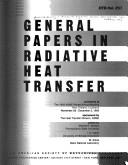 Cover of: General Papers in Radiative Heat Transfer | M. F. Modest