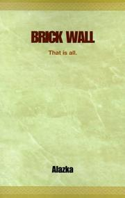 Cover of: Brick Wall