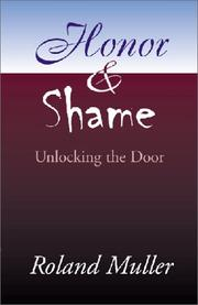 Cover of: Honor and Shame