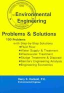 Environmental Engineering Problems and Solutions by Harry S. Harbold
