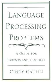 Cover of: Language Processing Problems