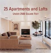 Cover of: 25 Apartments and Lofts Under 2500 Square Feet | James Grayson Trulove