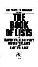 Cover of: The People's almanac presents The book of lists
