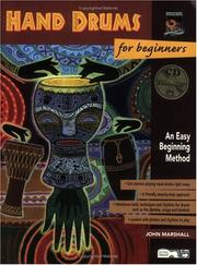Cover of: Hand Drums for Beginners
