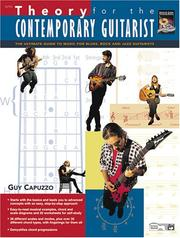 Cover of: Theory for the Contemporary Guitarist