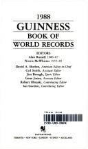 Cover of: Guinness Book of  World's Records 88