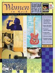 Cover of: Guitar Styles -- Women in Rock