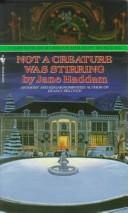 Cover of: Not a Creature Was Stirring: A Gregor Demarkian Holiday Mystery