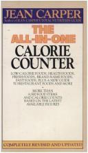 Cover of: All-in-One Calorie Counter | Jean Carper