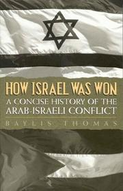 Cover of: How Israel Was Won
